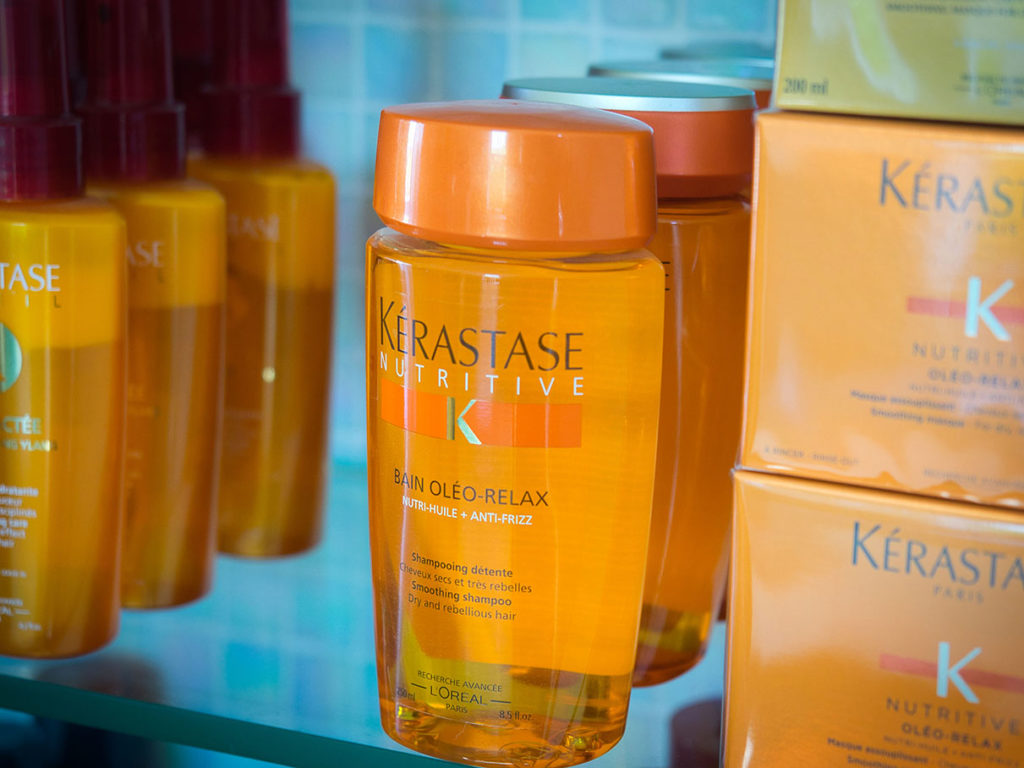 Kerastase professional hair styling products
